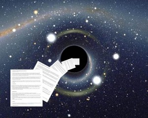 Black hole of information