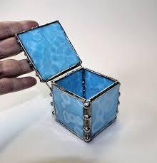 tiny blue box
