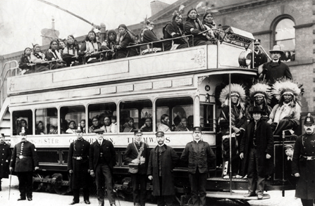 Buffalo Bill Visits Manchester in 1903