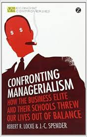 Confronting Managerialism by Locke and Spender