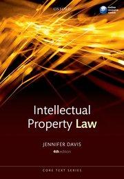 'Intellectual Property Law; 4th Edition' by Jennifer Davis