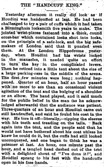 Published in the Manchester Guardian March 18th 1904