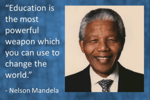 Education and change