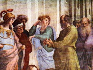 Socrates in the marketplace