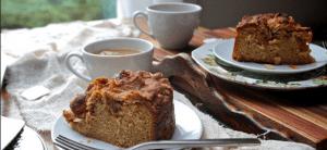 Tea coffee and cakes