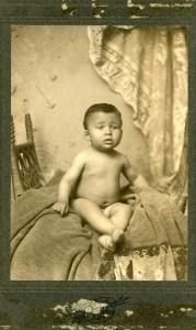 William Burghardt Du Bois as a child