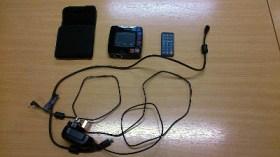 Simple portable projector unit