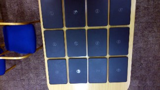 Twelve Dell Inspiron 3521 laptops