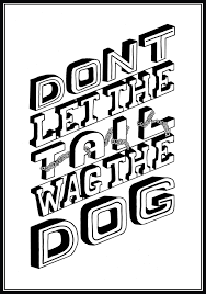 Tail wag the dog