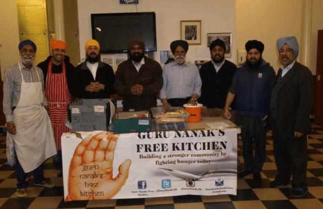 Guru Nanaks free kitchen chefs