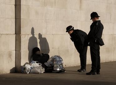 Criminalizing homelessness