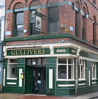 Gullivers frontage