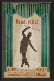Vaudeville bill poster