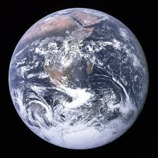 The Blue Marble photograph of Earth, taken during the Apollo 17 lunar mission in 1972