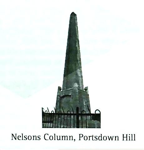 Nelsons Column Portsdown Hill