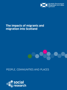 Click to Download: 'The impacts of migrants and migration into Scotland'