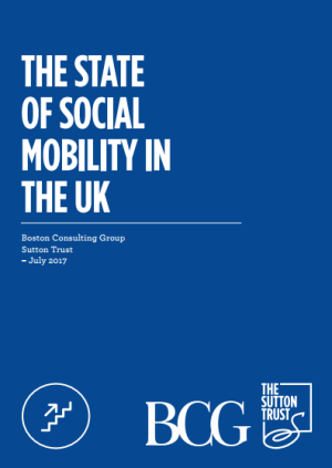 Click to Download: 'The State of Social Mobility in UK' by The Sutton Trust