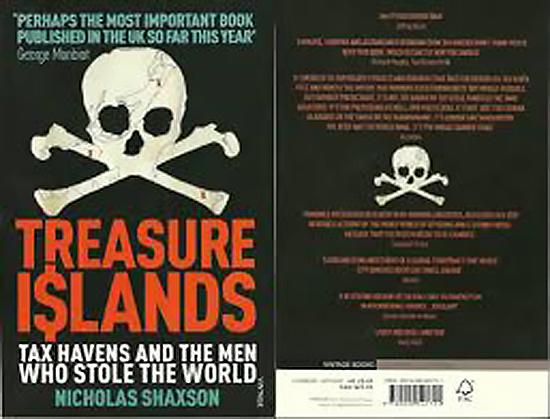 Treasure Islands Nicolas Shaxon