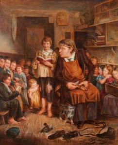Sheaf, Henry S.; John Pounds Teaching Poor Children; Portsmouth Museums and Visitor Services