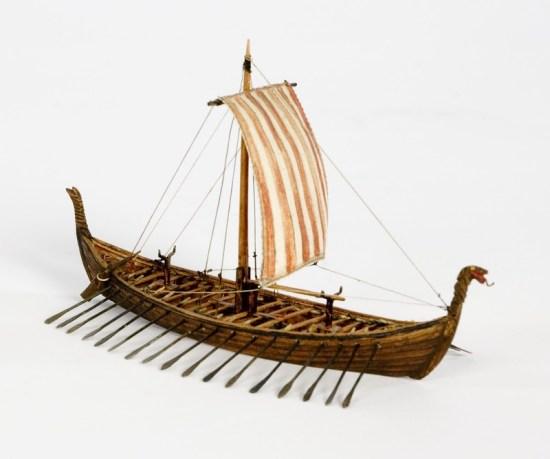 Fartygsmodell OSEBERGSKEPPET Sjöhistoriska museet S 1620.tif
