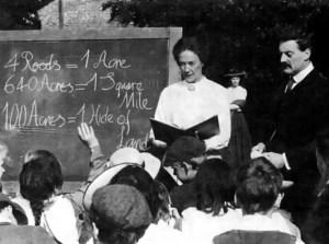 Annie and Tom Higdon Teaching