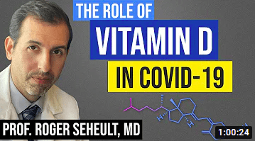 Vitamin D and the treatment of covid 19