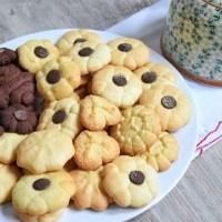 Biscotti di frolla montata all'olio