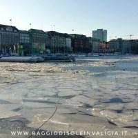 Amburgo: il lago Alster ghiacciato