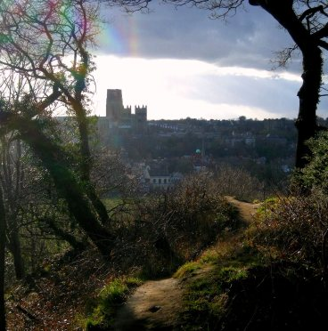 Durham Cathedral from Pelaw Woods