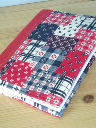 Make this lovely project in lesson 1 to keep your sewing notes in