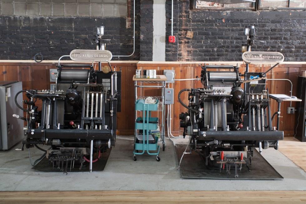 Raghaus Letterpress Studio, Newburgh, Hudson Valley, New York