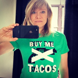 Buy me tacos punk rock t-shirt for women