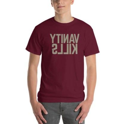 Vanity Kills - The ultimate selfie t-shirt