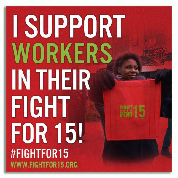 I Support Fight for 15