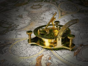 a compass for guidance on how to navigate rightly