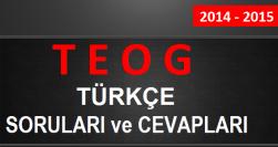 2014 2015 türkçe teog
