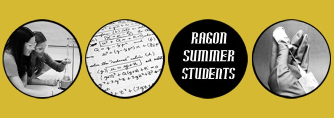 Newsletter Vol 6: Ragon Summer Student Program