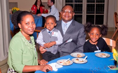 Dr. Zaza Ndhlovu and family