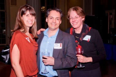 Jessica O'Leary, Dr. Todd Allen and Dr. Mary Carrington