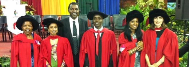 HPP Celebrates Seven Graduates of UKZN