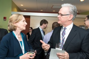 MIT President Dr Susan Hockfield and David Woodruff (MIT)