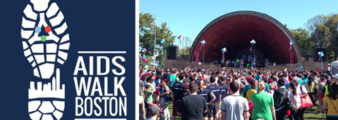Ragon Supports AIDS Walk 2014