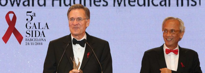 Walker Honored at Gala Sida Barcelona