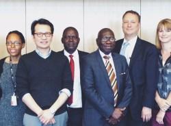 Ragon Hosts Visitors from Ugandan University