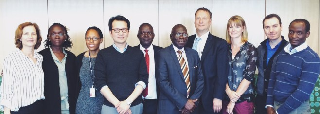 Ragon Hosts Visitors from Ugandan University