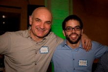 Drs. Vladimir Vrbanac and Wilfredo Garcia Beltran