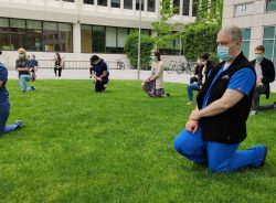 Kneel-In Vigil: In Support and Solidarity