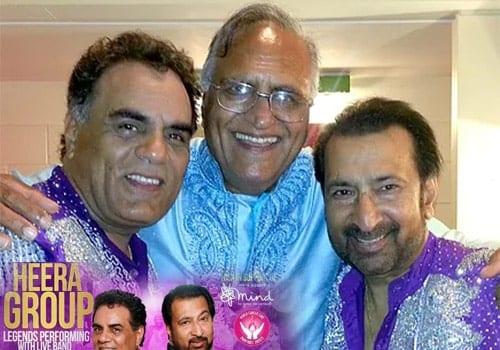 Rahi Bains with Dhami and Kumar of Heera Group, UK