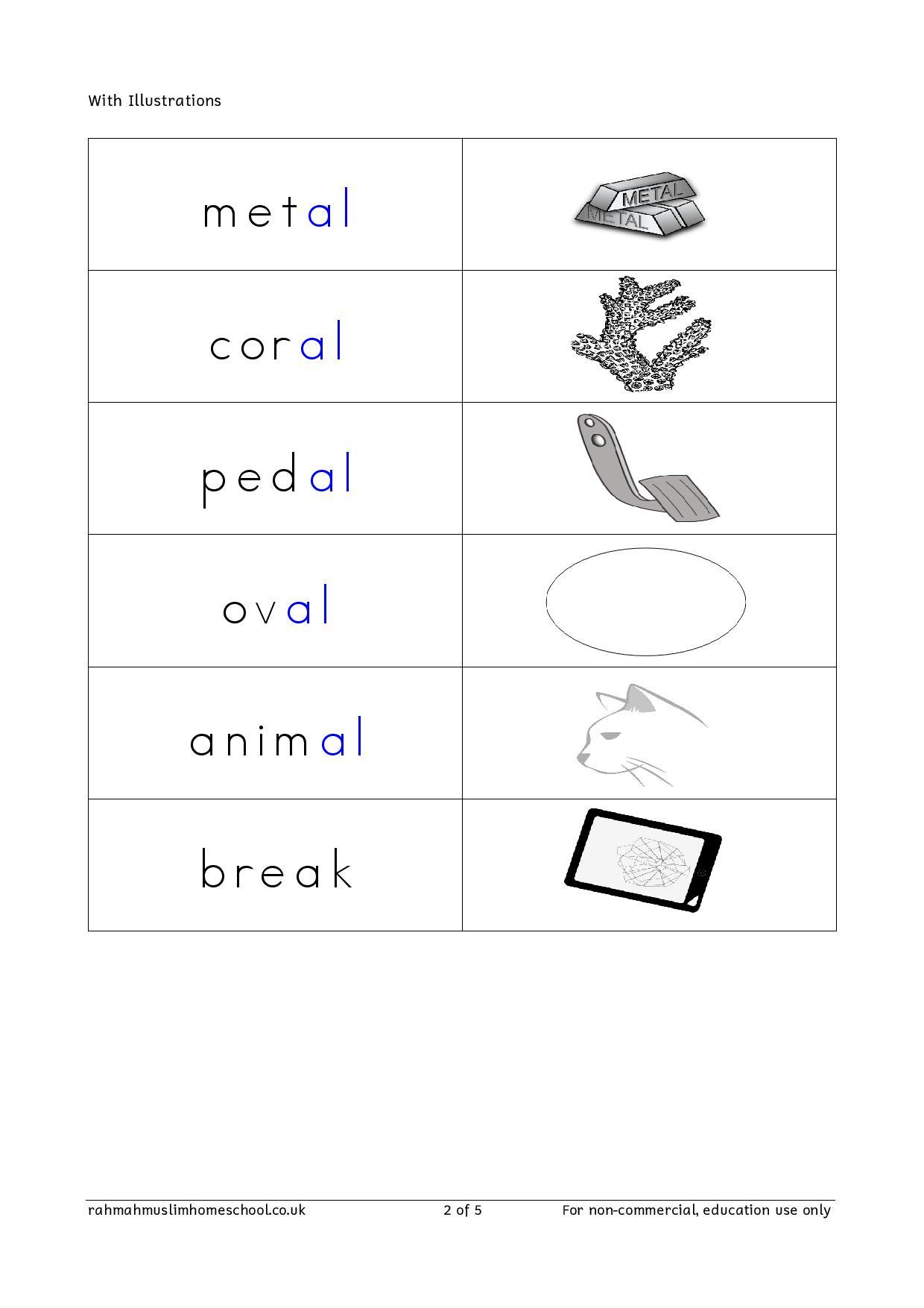 Spelling Worksheets For Year 2 Uk