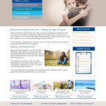 A website for bereavement support